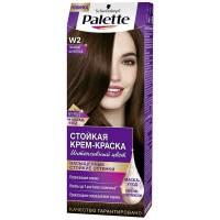 Стойкая крем-краска для волос + маска-уход W2 Темный шоколад