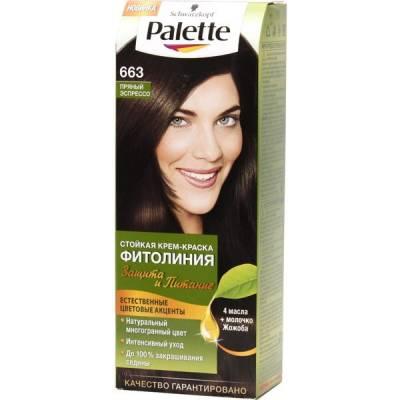 Palette Фитолиния Краска для волос 663 Пряный эспрессо