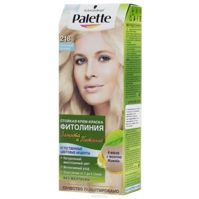 Palette Фитолиния Краска для волос 218 Пепельный блондин