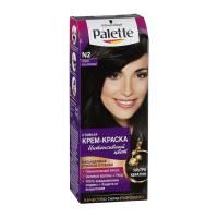 Стойкая крем-краска для волос + маска-уход N2 Тёмно-каштановый