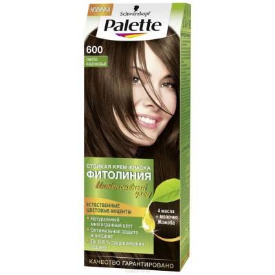 Palette Фитолиния Краска для волос 600 Светло-каштановый