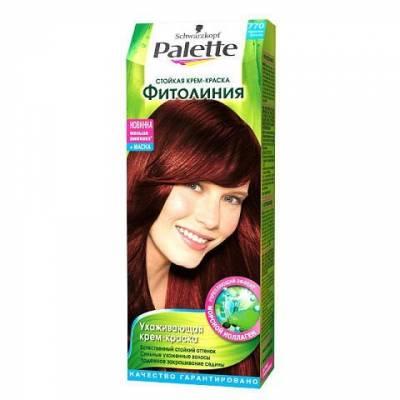 Palette Фитолиния Краска для волос 770 Красная бронза