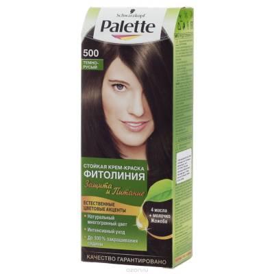 Palette Фитолиния Краска для волос 500 Темно-русый