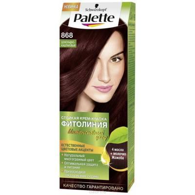 Palette Фитолиния Краска для волос 868 Шоколадно-каштановый