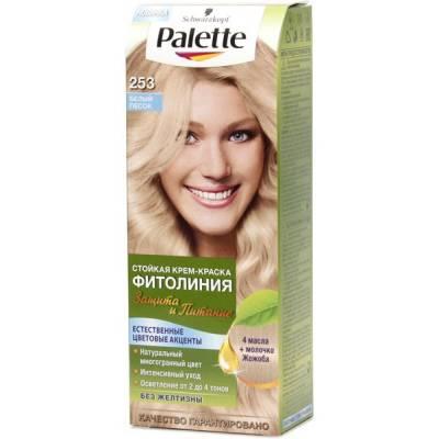 Palette Фитолиния Краска для волос 253 Белый песок