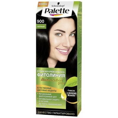 Palette Фитолиния Краска для волос 900 Черный