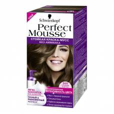 Краска-мусс для волос Perfect Mousse 500 Средний Каштан