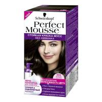 Краска-мусс для волос Perfect Mousse 300 Чёрный Каштан