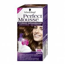 Краска-мусс для волос Perfect Mousse 668 Лесной Орех