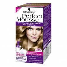 Краска-мусс для волос Perfect Mousse 750 Миндаль