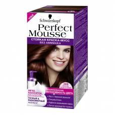 Краска-мусс для волос Perfect Mousse 388 Красно-Каштановый