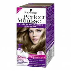 Краска-мусс для волос Perfect Mousse 700 Темно-Русый