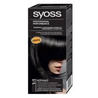 Краска для волос Syoss Color 1-1 Чёрный