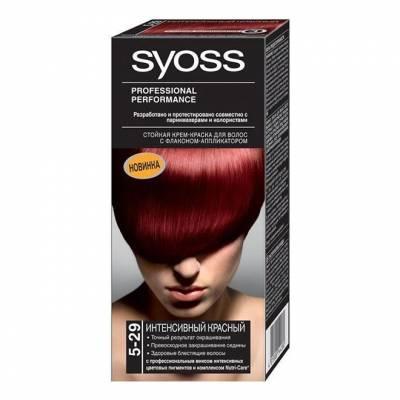 Краска для волос Syoss Color 5-29 Интенсивный красный