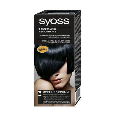 Краска для волос Syoss Color 1-4 Иссиня-черный