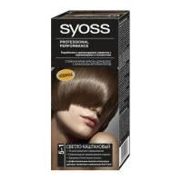 Краска для волос Syoss Color 5-1 Светло-каштановый