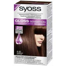 Краска для волос Syoss Gloss Sensation 4-82 Чилийский шоколад