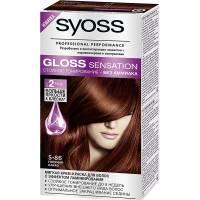 Краска для волос Syoss Gloss Sensation 5-86 Горячий какао
