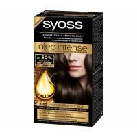 Краска для волос Syoss Oleo Intense 2-10 Черно-каштановый