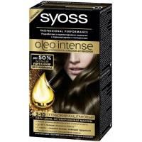 Краска для волос Syoss Oleo Intense 3-10 Глубокий Каштановый
