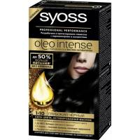 Краска для волос Syoss Oleo Intense 1-10 Глубокий черный