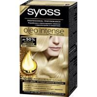 Краска для волос Syoss Oleo Intense 10-05 Жемчужный блонд
