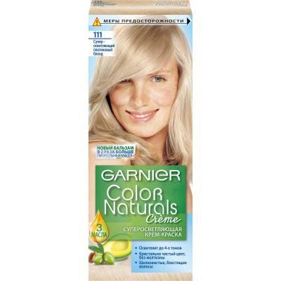 Краска для волос Color Naturals 111 Сильно осветляющий платиновый блонд