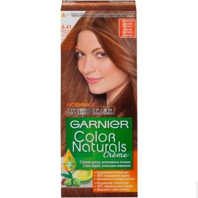 Краска для волос Color Naturals 6.41 Страстный янтарь