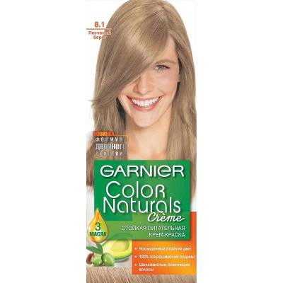 Краска для волос Color Naturals 8.1 Песчаный берег
