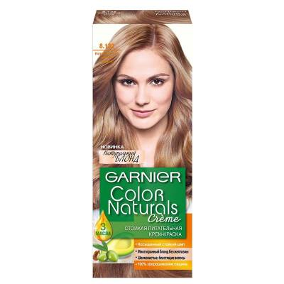 Краска для волос Color Naturals 8.132 Натуральный светло-русый
